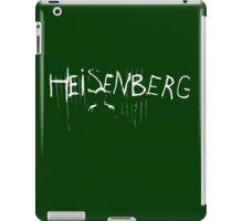 My name is Heisenberg - Graffiti Spray Paint Breaking Bad iPad Case/Skin