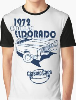 Classic Car 1972 Cadillac Eldorado Graphic T-Shirt