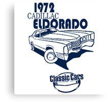 Classic Car 1972 Cadillac Eldorado Canvas Print