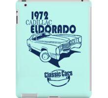 Classic Car 1972 Cadillac Eldorado iPad Case/Skin