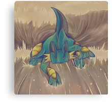 Muddy Water Canvas Print