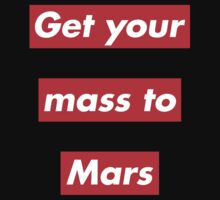 Get Your Mass to Mars (Red Alert) – Shirts & Hoodies Kids Tee