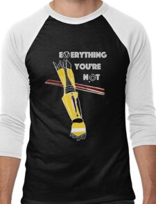 Everything You're Not Men's Baseball ¾ T-Shirt