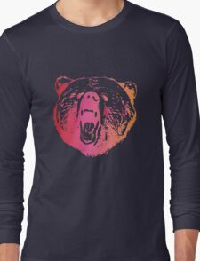 Colorful Bear  Long Sleeve T-Shirt