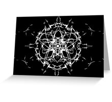 Demon Summing Circle Greeting Card