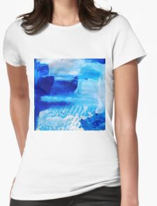 Under the waves Womens Fitted T-Shirt