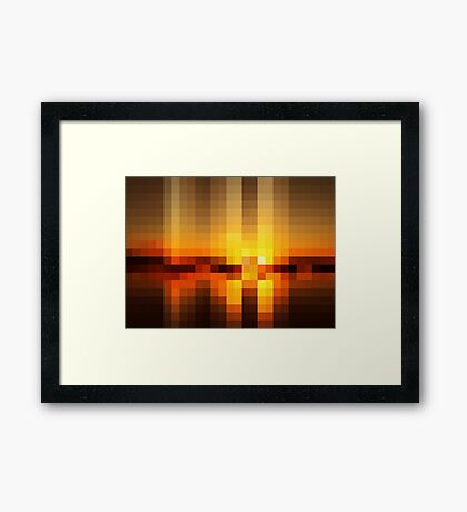 Nature Pixels No.19 Framed Print