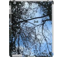 Look Up - Blue iPad Case/Skin