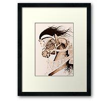 Bulven Horse Framed Print