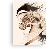 Bulven Horse Metal Print