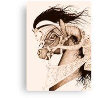 Bulven Horse Canvas Print