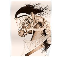 Bulven Horse Poster