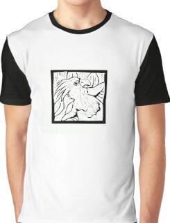 Cockatoo, linocut, 1990 Graphic T-Shirt