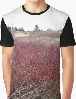 Winter Brush ~ Texture and Pattern Graphic T-Shirt