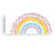 Rainbow baby Canvas Print