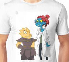 Underswap Alphys and Undyne Unisex T-Shirt