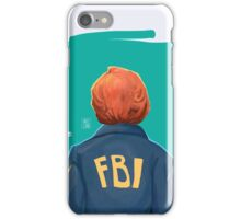 f b i iPhone Case/Skin