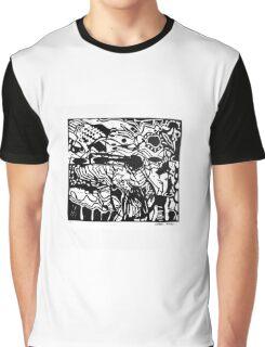 Music, linocut, 1986 Graphic T-Shirt