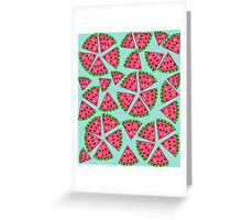 Watermelon Slice Party Greeting Card