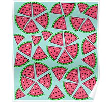 Watermelon Slice Party Poster