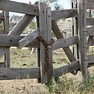 Old Gate by aussiebushstick