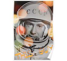 RUSSIA'S Cutest Cosmonaut Poster