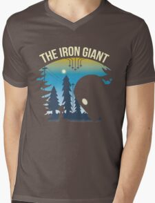 The Iron Giant Mens V-Neck T-Shirt