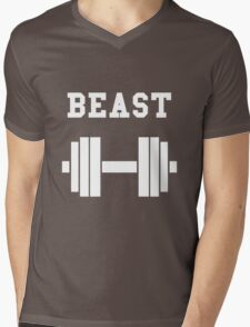 Beast Mens V-Neck T-Shirt