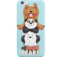 Funny We Bare Bears iPhone Case/Skin