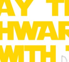 May The Schwartz Be With You Sticker