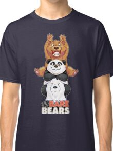Funny We Bare Bears Classic T-Shirt