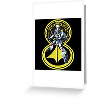 Skull Squadron Classic Greeting Card