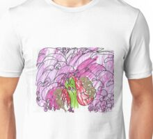 Happy Unicorn Waterfall Unisex T-Shirt