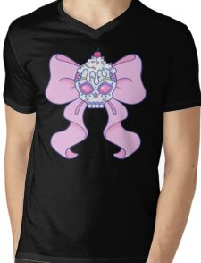 Pastel Sugar Skull Mens V-Neck T-Shirt