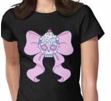 Pastel Sugar Skull Womens Fitted T-Shirt