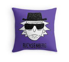 Ricksenberg Walter White Breaking Bad Throw Pillow