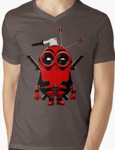 Minipool Funny Minion Mens V-Neck T-Shirt