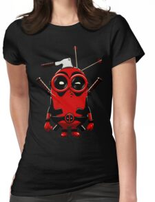 Minipool Funny Minion Womens Fitted T-Shirt