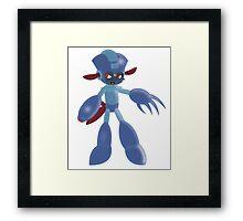 Mega Man Weavile Framed Print