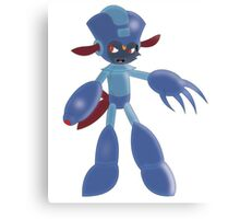 Mega Man Weavile Canvas Print