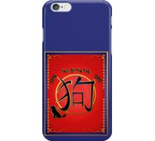 The Year Of The Dog-dates iPhone Case/Skin