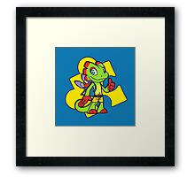 Yooko-Layzooie Framed Print