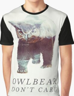 Owlbear Don't Care Graphic T-Shirt
