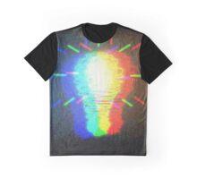 Rainbow Bulb Graphic T-Shirt
