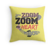 B1A4 You Zoom Zoom My Heart Like A Rocket Throw Pillow