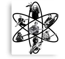 Atom of Rock Canvas Print