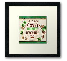 1959 The Keepers Honey  Framed Print