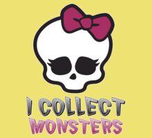 Monster Collector - Monster High Doll Shirt Kids Tee