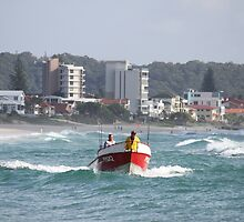 Local Fishermen Heading Out. by aussiebushstick