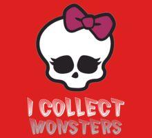 Monster Collector - Monster High Doll Shirt Dark One Piece - Short Sleeve